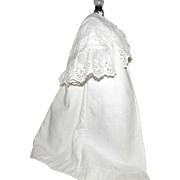 Antique French Fashion or Other Antique Lady Doll Cape