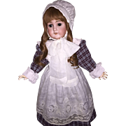 "Beautiful 25"" Schuetzmeister and Quendt Antique German Doll"