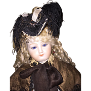 Beautiful Silk Hat for French Fashion Doll