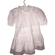 Gorgeous Child's Dress for Antique Doll