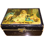Darling Doll Child Sewing Kit in Original Clark & Co. Box