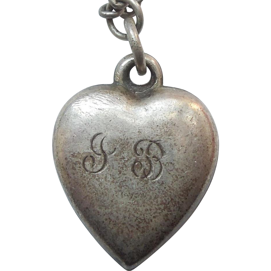 sterling silver charm engraved jb and cb