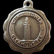 Bates & Klinke - Citrus Tower Clermont FL Sterling Silver Travel Souvenir Charm