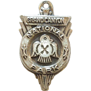 Bates & Klinke Grand Canyon National Park Sterling Silver Charm - Thunderbird