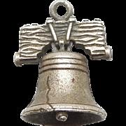 Vintage 3D Liberty Bell - Philadelphia Souvenir Travel Charm