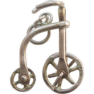 Vintage Mechanical High-seated Bicycle Charm