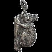 Sterling Silver Koala Bear Charm