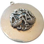 Large Sterling Silver Libra 'The Scales' Zodiac Charm or Pendant by Peruzzi