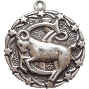 Capricorn - Sterling Silver Zodiac Astrology Charm by Bell