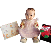 """Vintage Effanbee Dy-Dee Doll Jane booties & Mittens for your 15"""" Doll"""