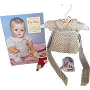 "Vintage Effanbee Dy-Dee Doll ""RARE"" MINT Polka Dot Dress for your 11"" Doll"