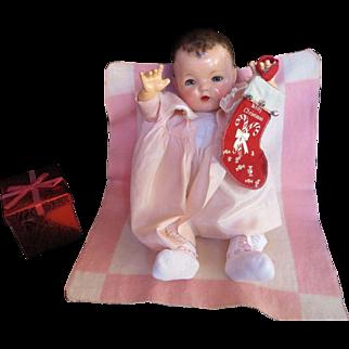 "Vintag"" RARE"" Effanbee Dy-Dee Doll Esmond Mold I Blanket"