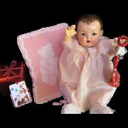 Vintage Effanbee Dy-Dee Doll Esmond RARE Bear Blanket