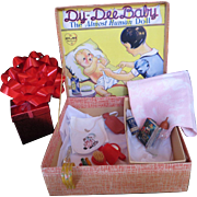Vintage Effanbee Dy-De Doll FAO Schwarz Presentation Box with Accessories