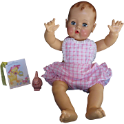 """Vintage Effanbee Dy-Dee Lou Sunsuit Polished cotton  with ruffles for your 20"""" Doll"""