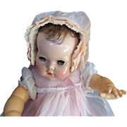 "Vintage Effanbee Dy-Dee doll Lou Silk Peach for your 20"" Doll"