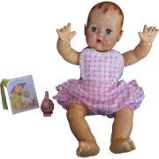 "Vintage Effanbee Dy-Dee Doll Lou Rumba Ruffle Sunsuit for your 20"" Doll- polished cotton"