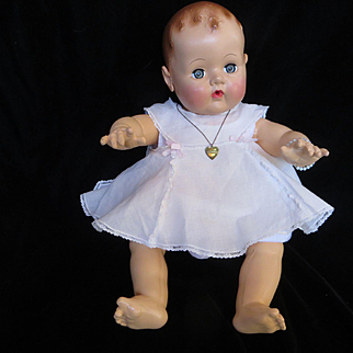 Vintage Effanbee Heart Necklace for your Effanbee Dy-Dee Doll & Effanbee Composition Doll