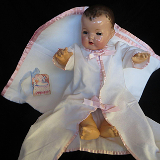 """""""MINT""""Vintage Effanbee Dy-Dee Doll Lou  Layette Set for your 20"""" Doll"""