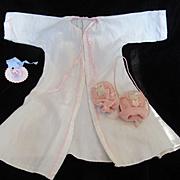 """Vintage Effanbee Dy-Dee Doll """"MINT"""" Gown & Kitten Mittens"""