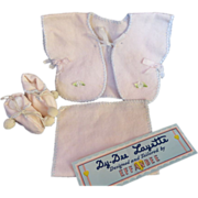 "Vintage Effanbee Dy-Dee Doll FAO Schwarz Layette Set for your 15"" Doll"