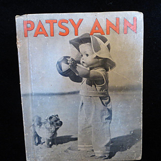 Vintage Effanbee Patsy Ann Happy Days Book 1937