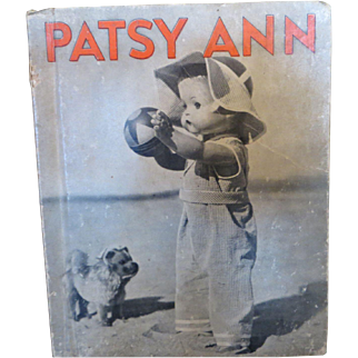 Vintage Effanbee Patsy Ann Happy Days Book 1937