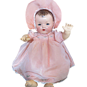 "Vintage Effanbee Dy-Dee Doll Dress & Bonnet for your 20"" Doll"