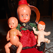 Vintage Miniature German Dolls
