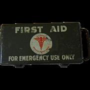 World War 2 U.S. Army First Aid Box