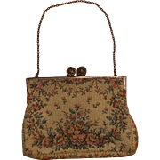 Walborg Petite Needlepoint Purse