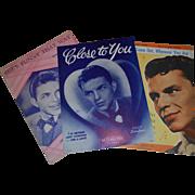 Vintage Frank Sinatra Sheet Music