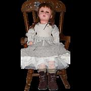 """Jumeau Mold 26"""" Paris 301 Composition Doll"""