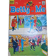 Betty and Me Comic, Archie Series June No. 14