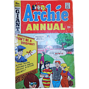 Archie Annual Comic Book