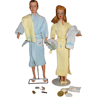 Barbie & Ken's  Terry Bath Robes Sets#784 & #998