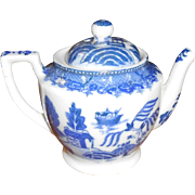Replacement Tea Pot For Blue Willow Made In Japan Tea Set 1940's - 1950's