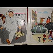 Playskool, Golden Press Puzzels, People's Jobs.