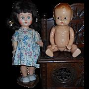 1950's Knock-Off Plastic Dolls