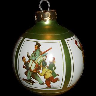 Norman Rockwell's 1986, Hallmark Christmas Ornament