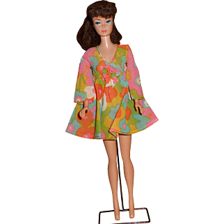 """Barbie's """"Flower Wower"""" 1970 #1453 Complete With Shoes"""