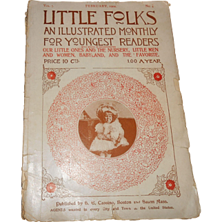 Little Folks Illustrated Monthly For Young Readers, February, 1902 No. 4
