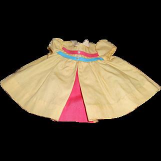 Chatty Cathy's 1960 Nursery School Dress