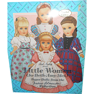 Madame Alexander's Little Women's Paper Dolls 1993