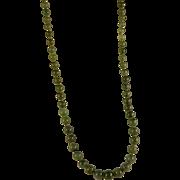 Vintage 1960's Jade Necklace