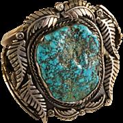 Vintage 1960's Navajo Turquoise Bracelet