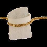 Vintage 18 K Yellow Gold Link Bracelet