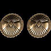 Vintage Southwest Native American Concho Earrings