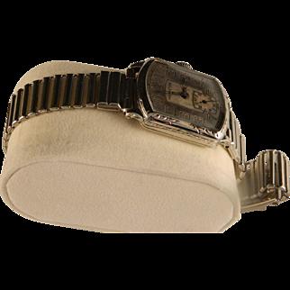 Vintage Hamiton 1927 Tonneau Gents Wrist Watch