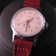 Timex Brownie Scout Wrist Watch C. 1960's